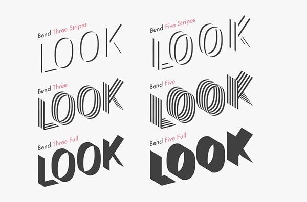 bend free font