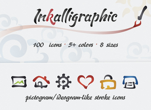 free-inkalligraphic-icon-set-12