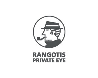 Private eye logo