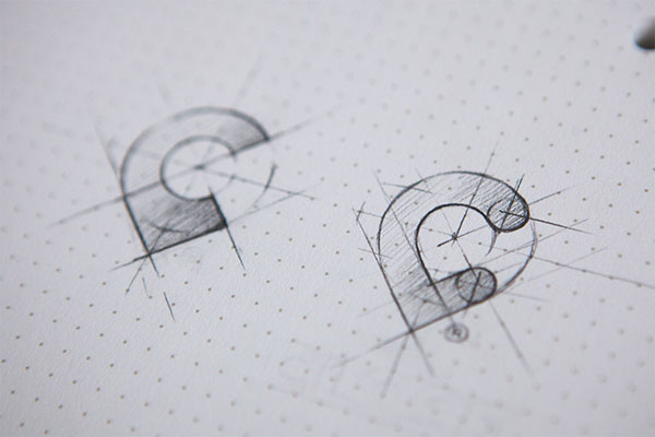25 Awesome Logo Concept Sketches Bashooka