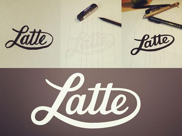 Latte Logo Process
