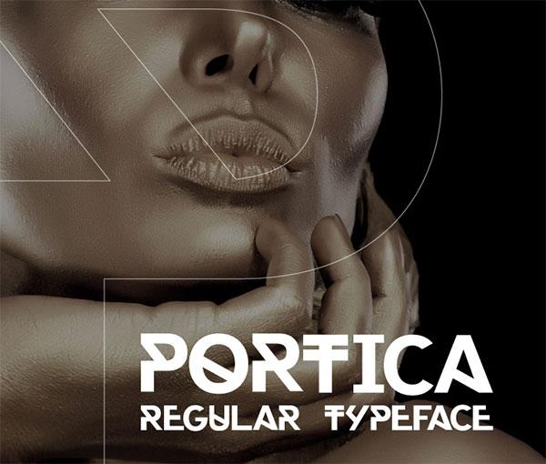 portica-free-font-2