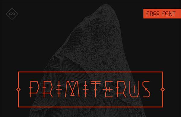 Primiterus Free Font Download