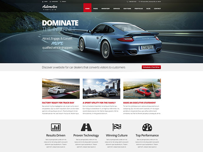43 Professionally Designed Html5 Business Website