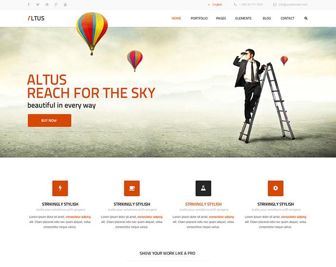 Altus - Multi-Purpose HTML Template