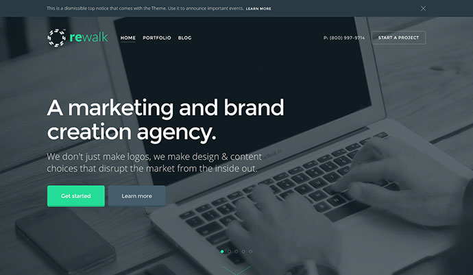 ReWalk - Responsive Business HTML Template