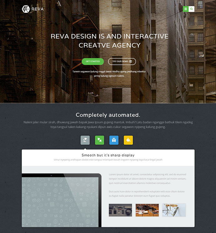 Reva - Multipurpose HTML Template