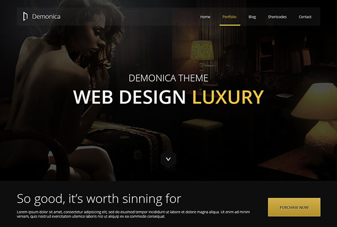 Demonica - Responsive Multi-Purpose Template