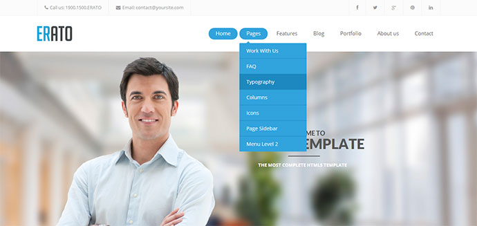 Business template html5 image collections business cards ideas business template html5 physicminimalistics business template html5 friedricerecipe image collections flashek Image collections