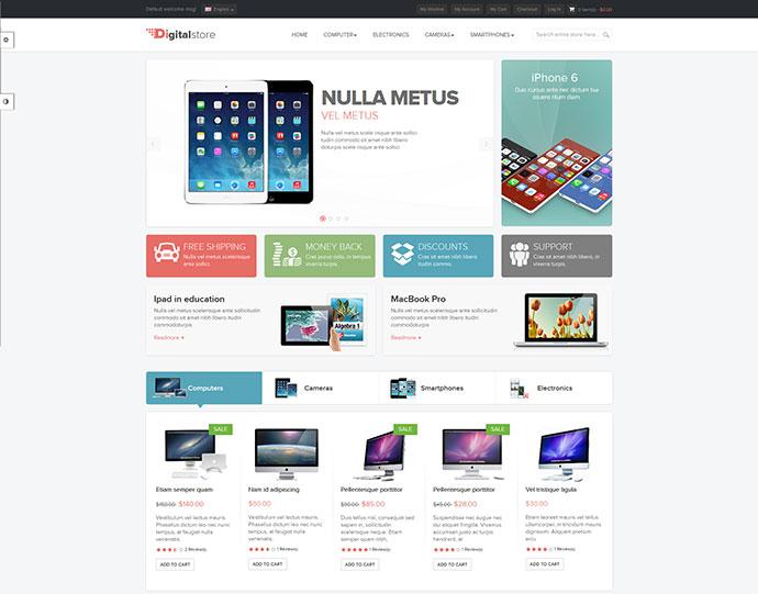 Ves Digital Store - Responsive Magento Theme