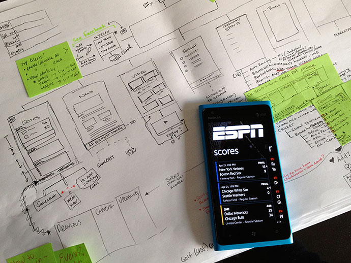 UX for ESPN