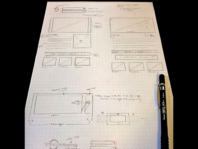 Responsive Sketch/Wireframe