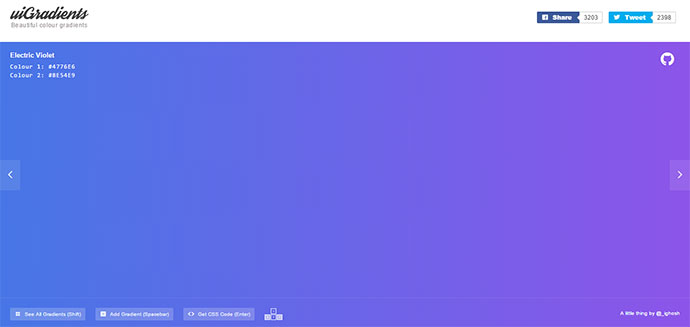 7 Useful Tools That Generate Css Gradients Web Amp Graphic