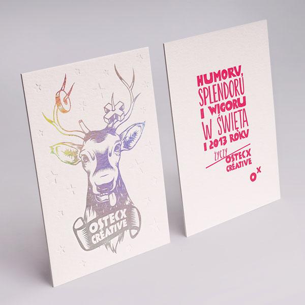 christmas card 23 - Foil Christmas Cards