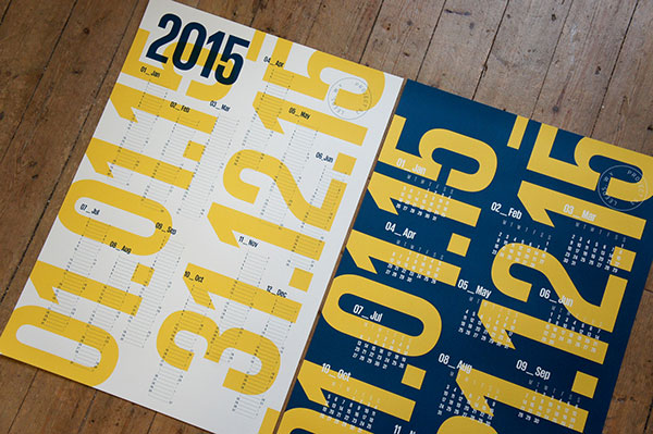 Screen-Printed Calendars