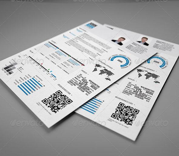 20 creative infographic resume templates  u2013 web  u0026 graphic