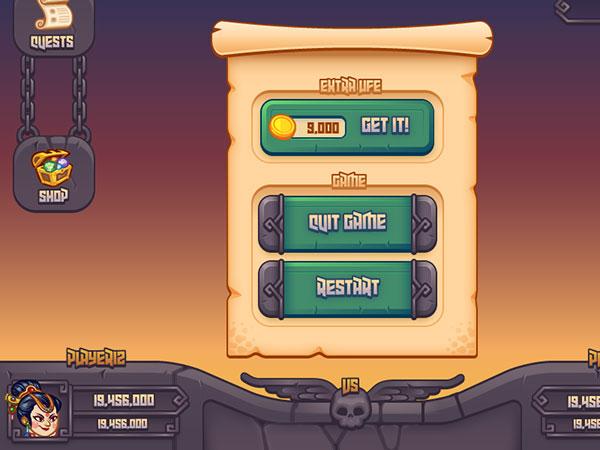 Medieval Battle Game Ui WIP