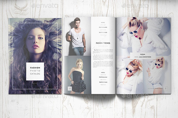 Awesome Indesign  Psd Photography Brochure Templates  Web