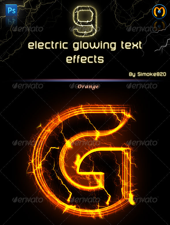 Electric Glowing effect