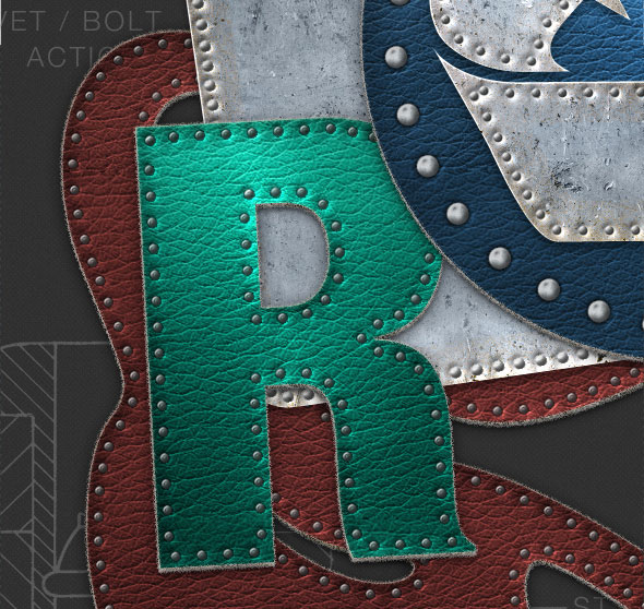 Rivet, Bolt, Stitch Creator for Metal and Leather