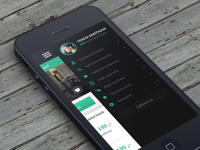 30 brilliant mobile navigation menu design concepts