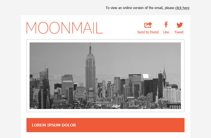 25 Best Responsive Email Templates | Web & Graphic Design | Bashooka