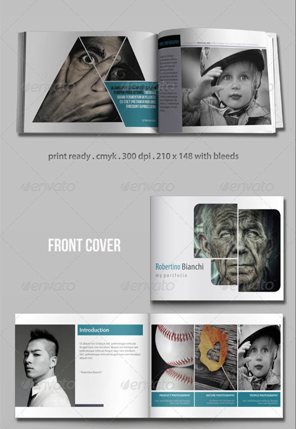 20 awesome indesign  u0026 psd photography brochure templates