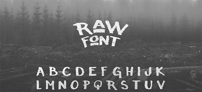raw-free-font-26
