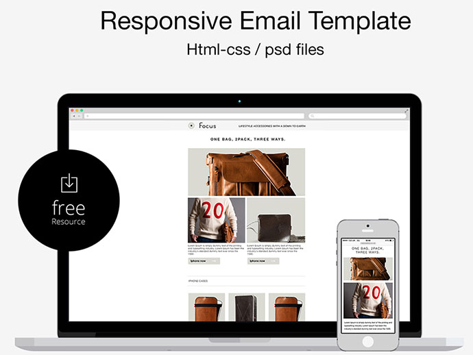 25 Best Responsive Email Templates Web Graphic Design Bashooka