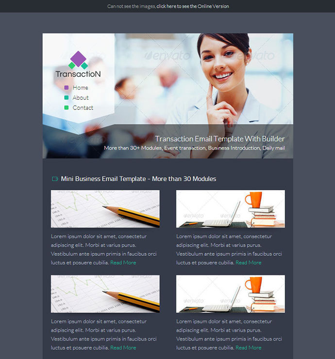 Best Responsive Email Templates Web Graphic Design Bashooka - Responsive transactional email template