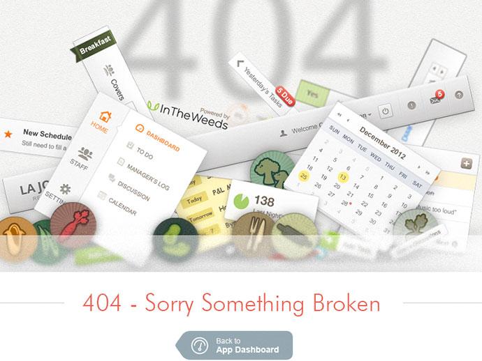 404 Broken UI