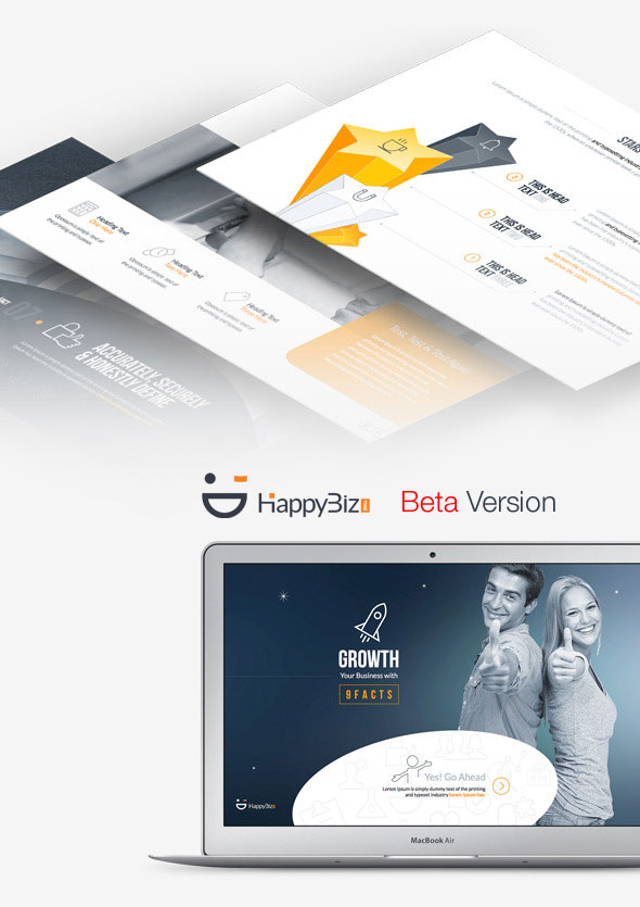 HappyBiz Beta | Business & Academic Presentation