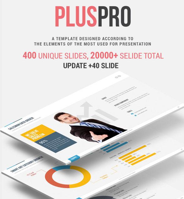 PlusPro-V2.1 Multipurpose Presentation Template