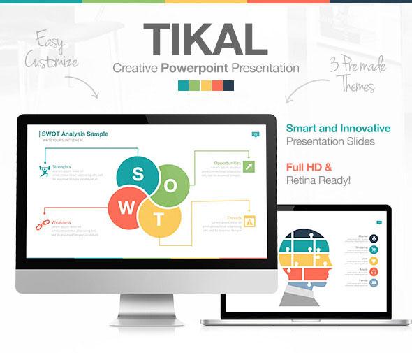 Tikal PowerPoint Presentation Template