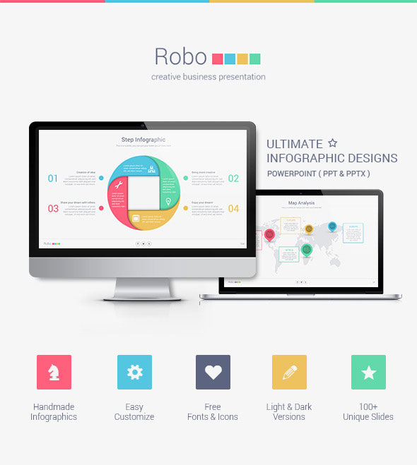 Robo Powerpoint Presentation Template
