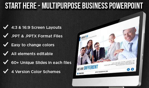 Start Here - Multipurpose Business Template