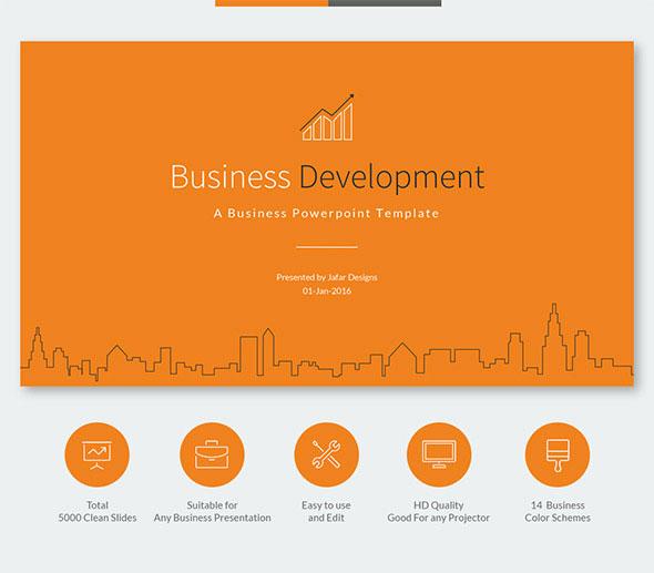 49 best powerpoint templates 2016 | web & graphic design | bashooka, Modern powerpoint