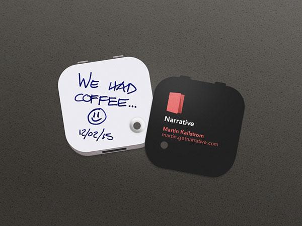 Narrative Business Card