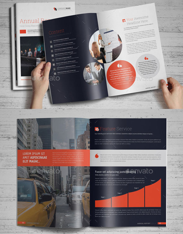 Annual Report Indesign Template 11