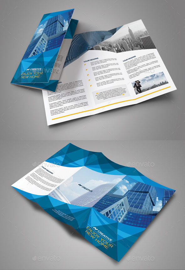 EyeCatching Psd  Indesign Brochure Templates  Web  Graphic
