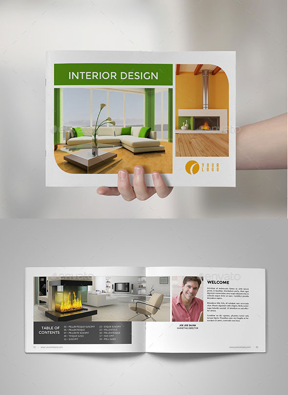 30 Eye-Catching Psd & Indesign Brochure Templates | Web & Graphic