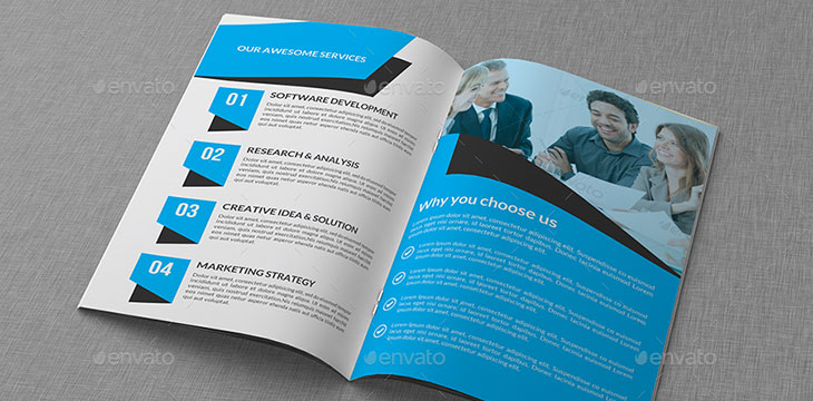 30 Eye Catching Psd Amp Indesign Brochure Templates Web