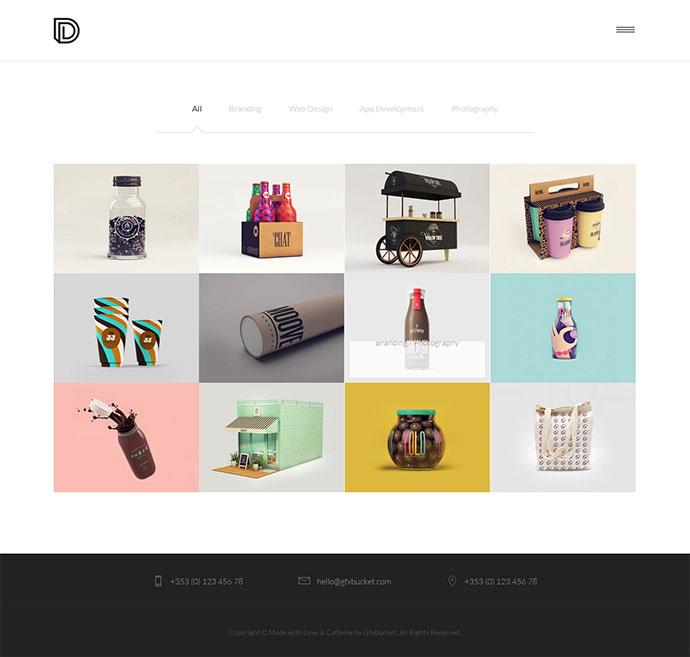 Agency | Freelancer | Portfolio Template