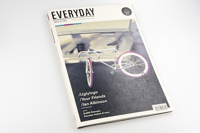 magazine about graphic designers & other creatives