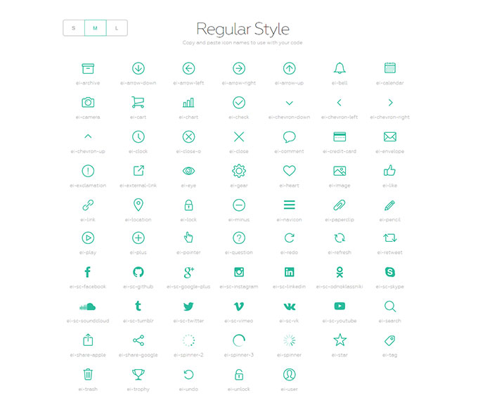 Simple and clean SVG icon pack with the code to support Rails, Sprockets, Node.js, Gulp, Grunt and CDN.