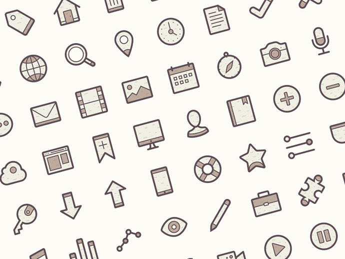 Barker Icon Set - Free