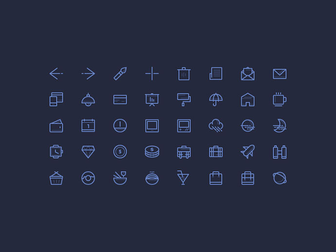 Freebie: Icons set vol.2