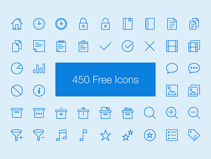 Lynny Icon Set - Free