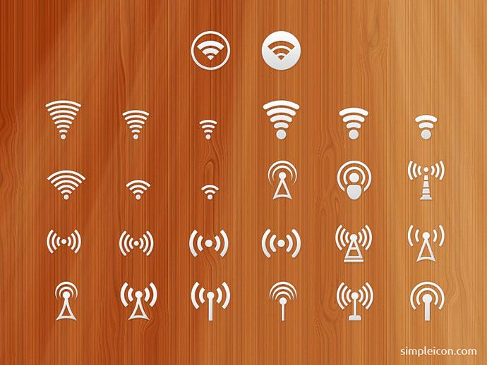 Signal Icon Set
