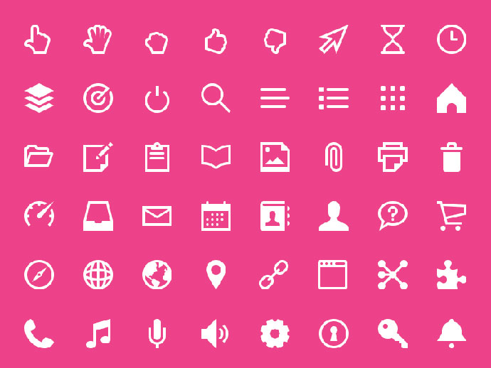 340 Freebies! Touch Icon Set